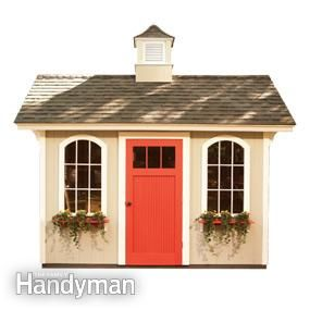 how to make a cheap shed