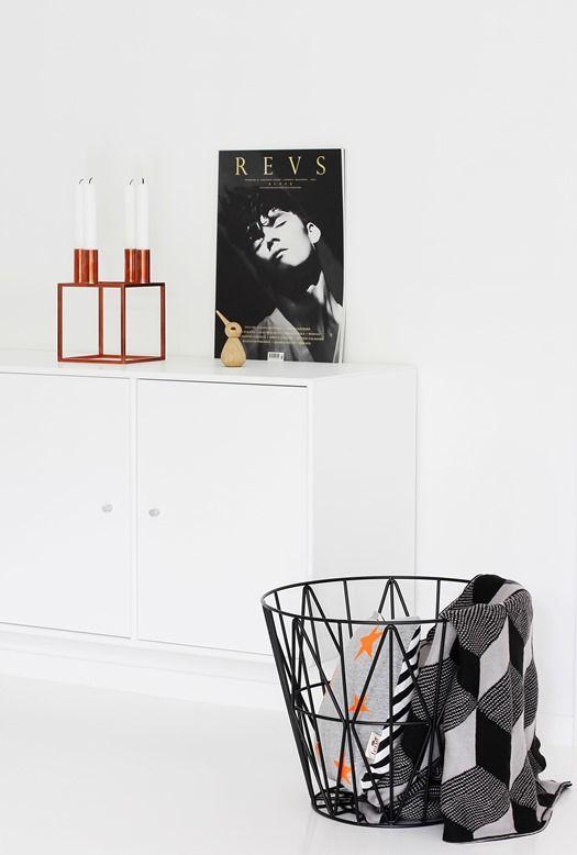 Via Nordic Leaves | Ferm Living | By Lassen | Black and White