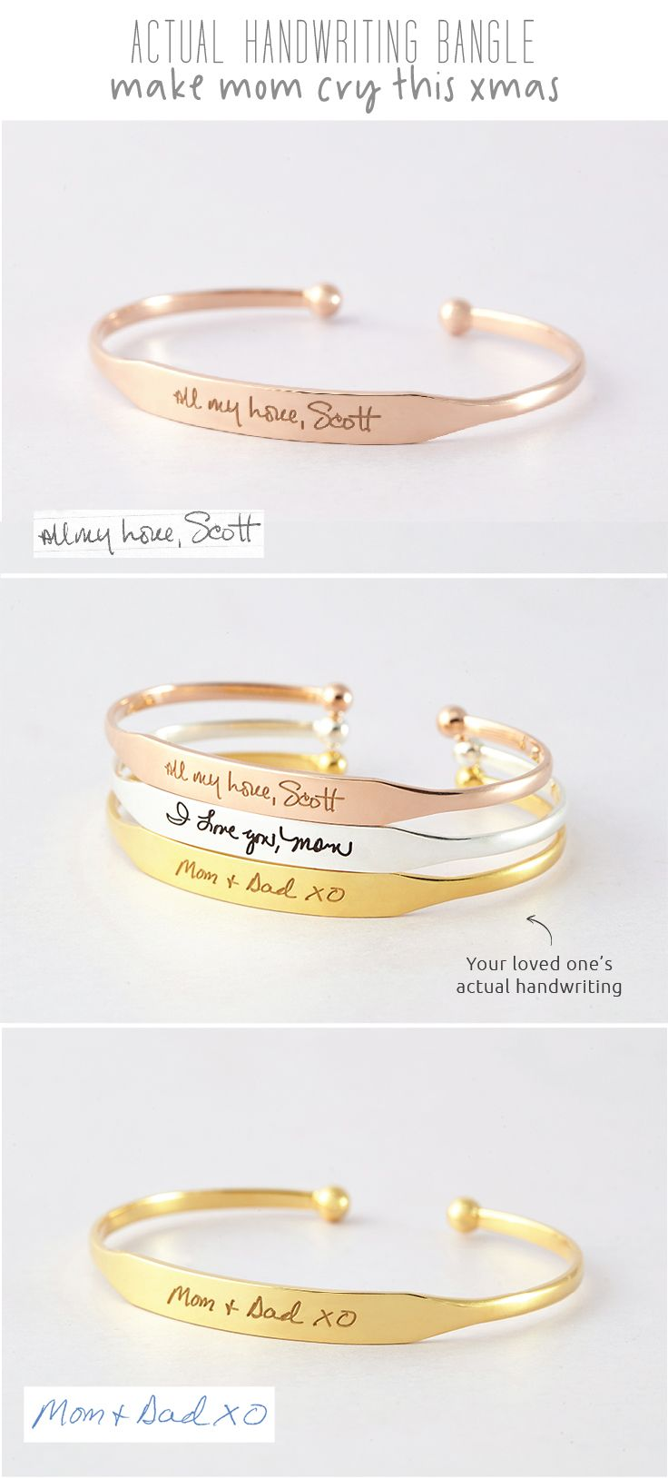 Handwriting Bracelet • Handwriting Cuff Bracelet - Tapered • Cut-out Handwriting Bracelet • Engraved Bar Handwriting Bracelet • Handwriting Bracelet • Actual handwriting jewelry  • Personalized handwriting jewelry • Handwriting gift • Memorial bracelet • Sympathy bracelet • Minimalist jewelry • Remembrance jewelry • christmas gift ideas for mom • creative graduation gifts • birthday gifts for mom birthday • best friend present ideas • gift for a friend