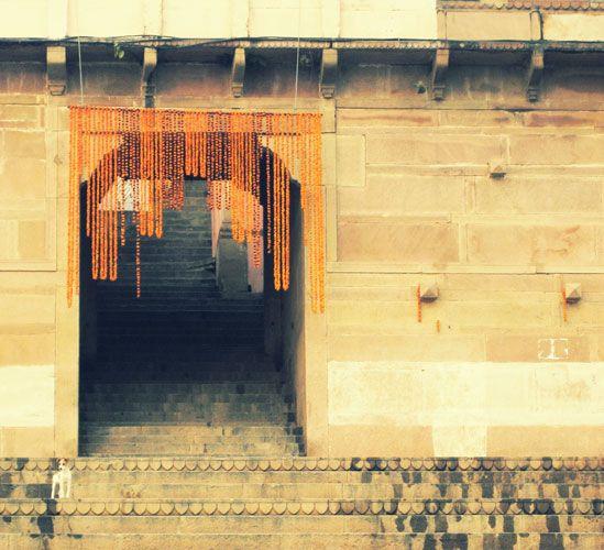 Entrance at the Ganges