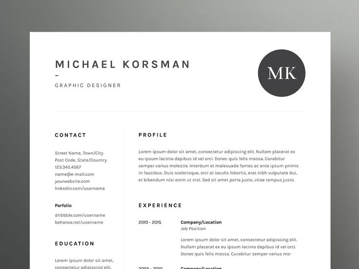 71 best CV images on Pinterest Cv ideas, Design resume and - two page resume examples