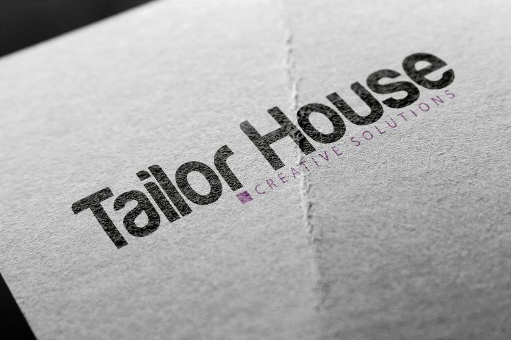 Logotipo Tailor House | Creative Solutions | www.tailorhouse.es