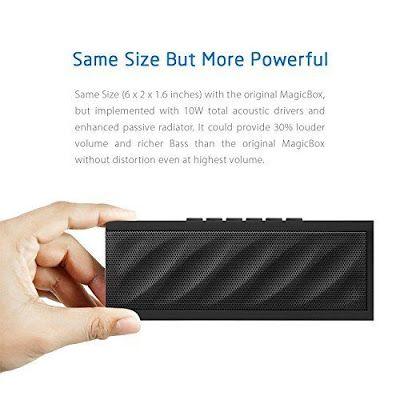 Para quem gosta de um bom som e quer comprar umas colunas Bluetooth, apresento-vos aDKnight Magi...