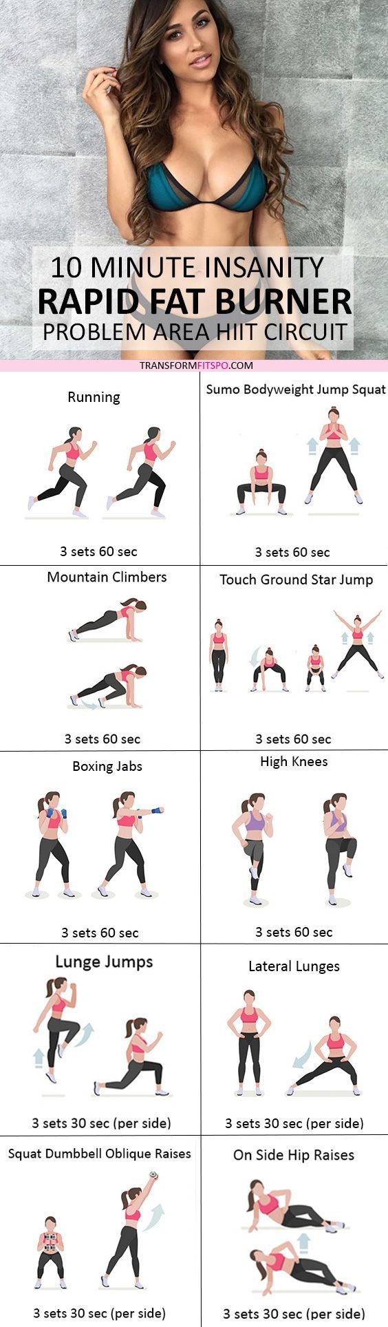 #womensworkout #workout #female fitness Repin and share if this workout got you toned all over! Click the pin for the full workout.