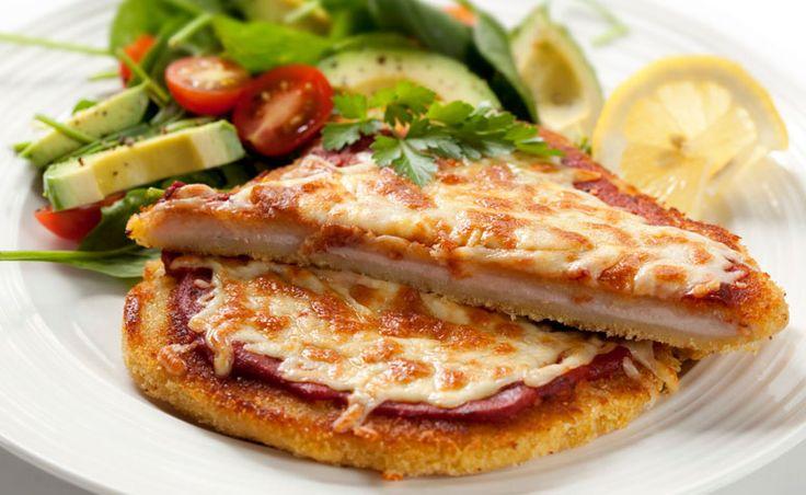 13 receitas de bife à parmegiana com cara de prato de restaurante.