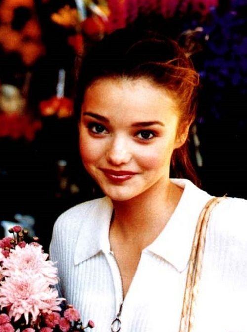 She's always been so beautiful… Young Miranda Kerr | Role ...