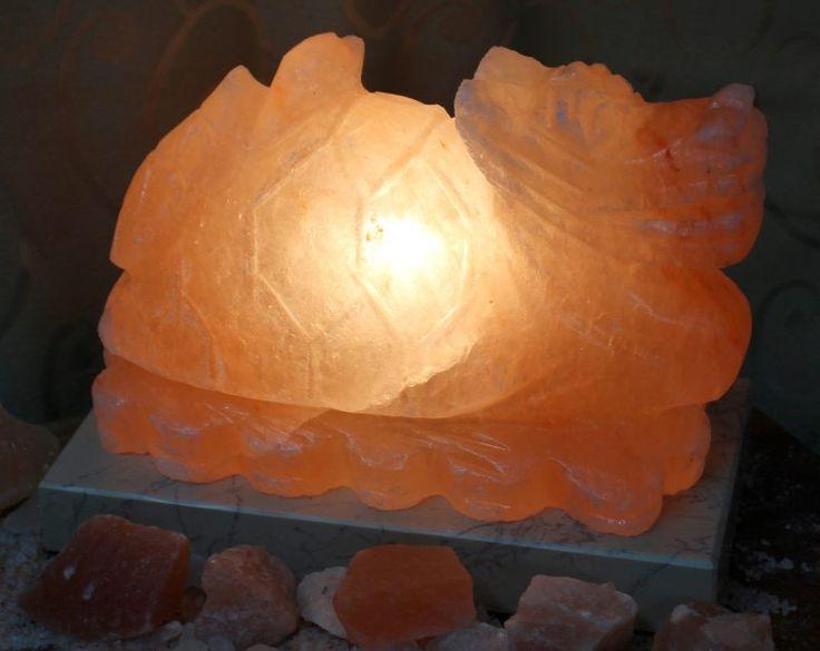 Crafted Himalayan Dragon Turtle Salt Lamp | Himalayan Salt Factory
