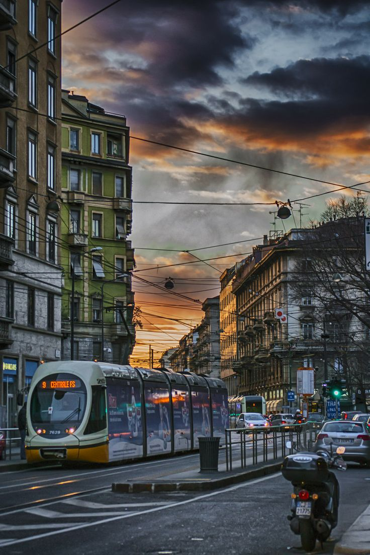 536 best images about trams tramways on pinterest - Porta lodovica milano ...