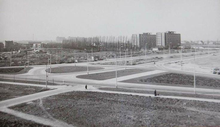 ulica Słowiańska - za ul. Rakoczego widać już akademiki