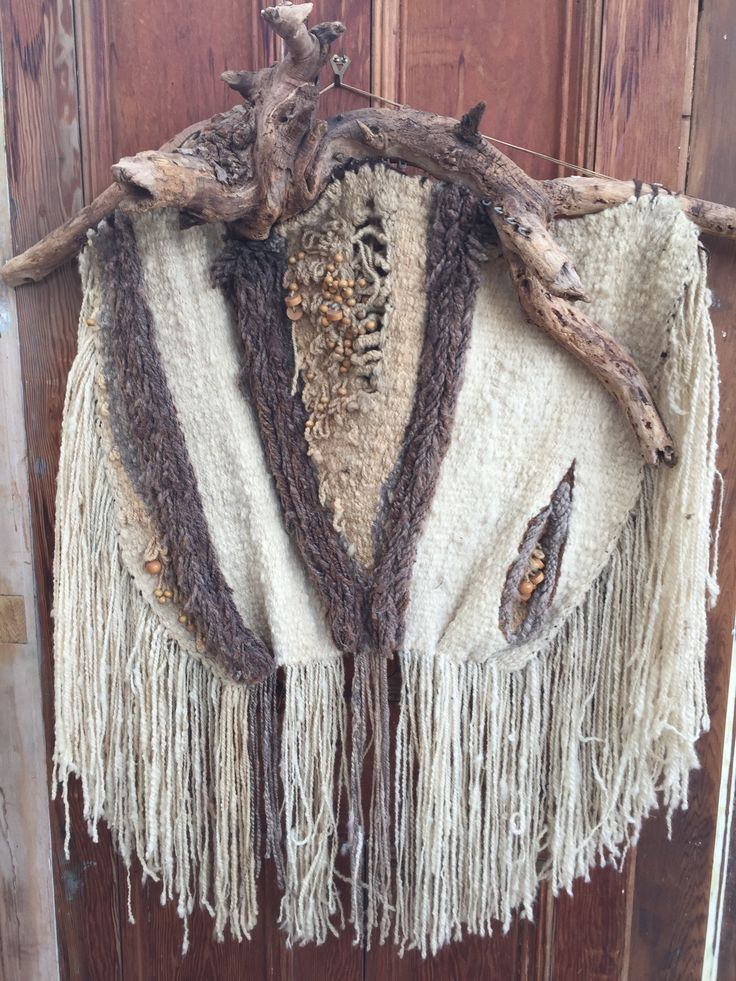 I made this piece over 30 years ago, I hand spun all the wool and used natural dyes to create this beautiful wall piece. I recently found this covered in dust on the top cupboard and it inspired me to have another go at this craft.