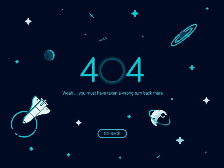 404 Page by Elliot Belchatovski