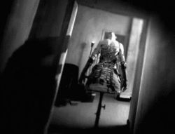 scary gif creepy horror dark mannequin