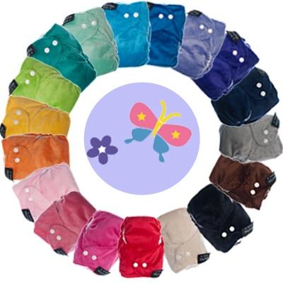 Itti Bitti Tutto one size cloth nappies discontinued colours. :-) Bianca@itti