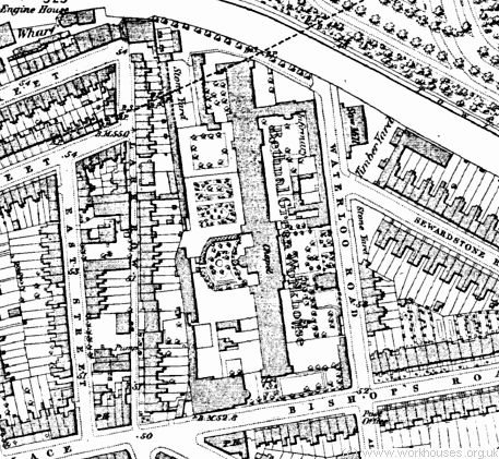 Bethnal Green workhouse site