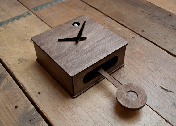 Quercus Modern Cuckoo Clock Programmed by pedromealha on Etsy