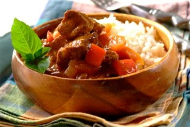 Beefy Goulash - comfort on a plate! #stews #recipes #dinner