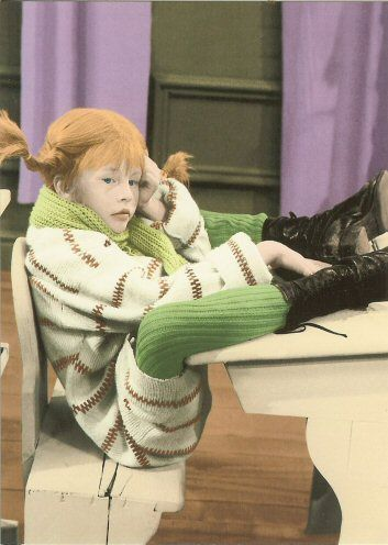 Pippi Longstocking- As a red-haired girl with freckles growing up my nicknames were either Pippi or Peppermint Patty. She is a sassy and out-spoken and powerful little dynamo. I hated it then I'd be proud for you to call me Pippi