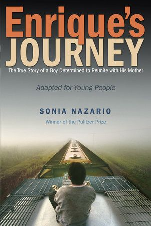 (Random House) Adapted for young people, this edition of Enrique's Journey is written by Sonia Nazario and based on the adult book of the same name. It is the true story of Enrique, a teenager from Honduras, who sets out on a journey, braving hardship and peril, to find his mother, who had no choice but to leave him when he was a child and go to the United States in search of work.