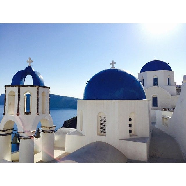 #Sacred #Santorini! #Architecture #Summer Photo credits: @jayne_mclean
