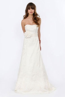 Brides Magazine: Jewel by Priscilla of Boston - Spring 2012 | Bridal Runway Shows | Wedding Dresses and Style | Brides.com