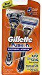 #3: Gillette Fusion Disposable Razors for Men 2 Count