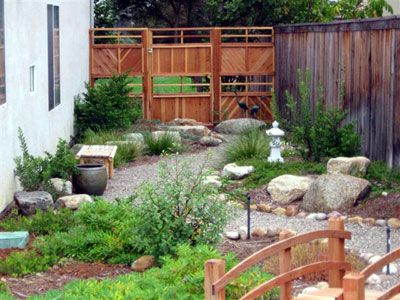 Japanese garden from California's Own Native Landscape Design--http://www.calown.com/nativegarden_styles.html
