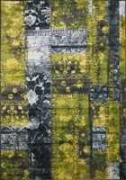 Funky Contemporary Floral Rug 4444S