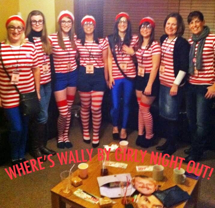 Leanne Willment And Her Hens Had A Brilliant Where's Wally