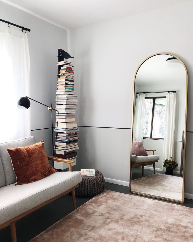 Floor Mirror Decorating Ideas That Will Improve Your Space Living Room Mirrors Living Room Interior Living Room Inspiration