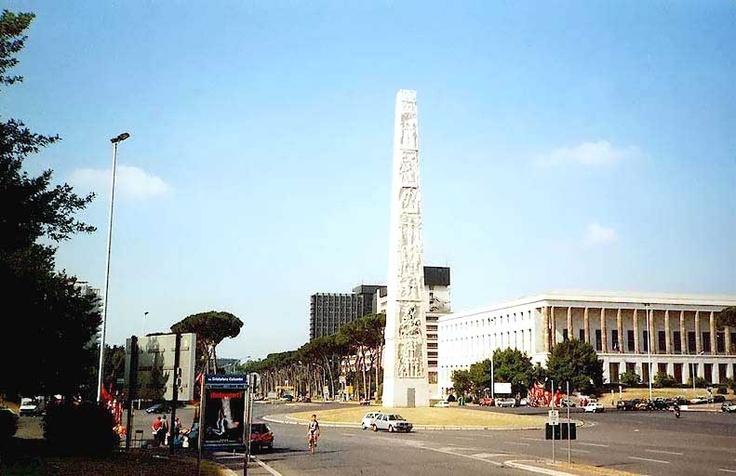 Roma piazza g marconi all 39 eur palazzo dell 39 arte moderna for Roma business center