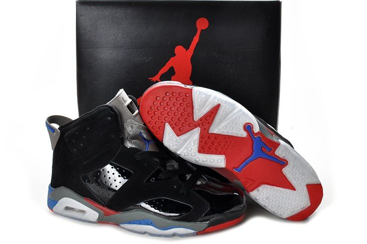 Air Jordan 6 Retro Black White Red!$65.60USD