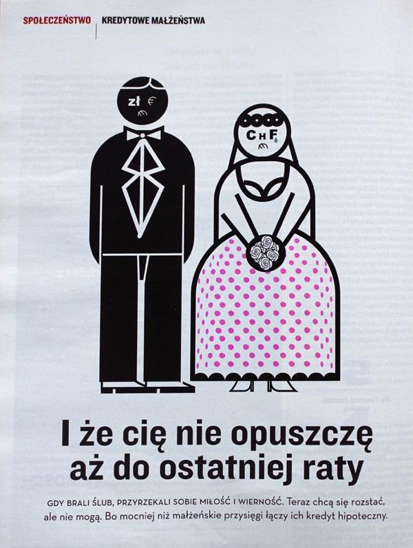 WPROST illustrations by Jerzy Tchórzewski, via Behance