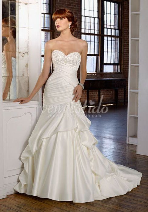 497 best Vestido de novia!! images on Pinterest | Wedding frocks ...