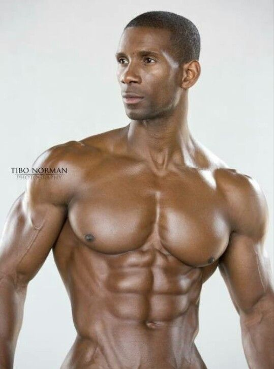 muscle black action naked