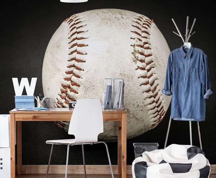 18 best ideas about carter 39 s big boy room on pinterest for Baseball scoreboard wall mural