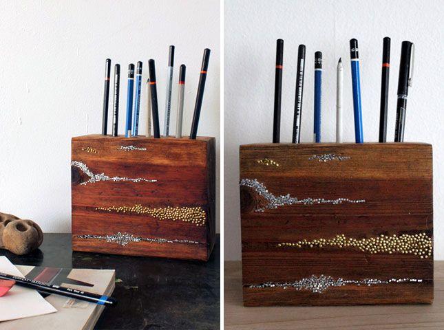 28 idee fai da te con il legno   Fai da Te Creativo