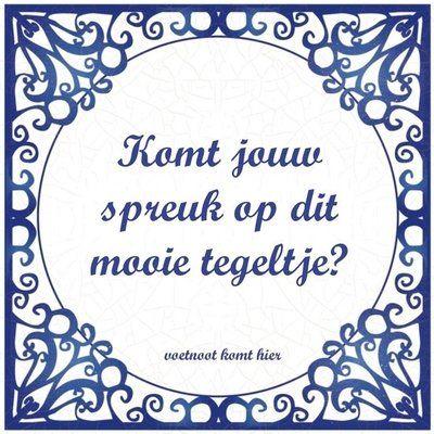 Delfts Blauw tegeltje (nr.30)