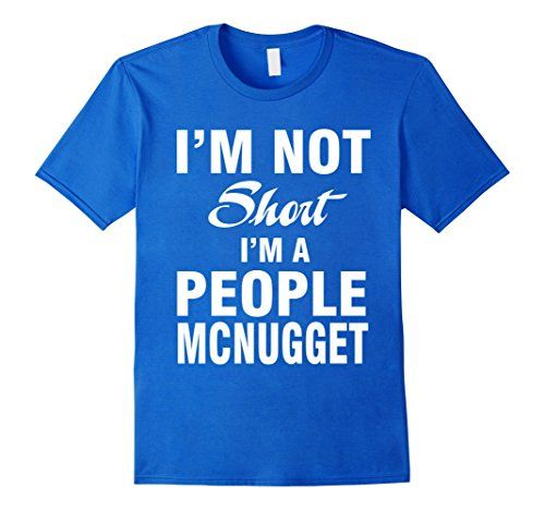 Men's People Mcnugget T-Shirt 3XL Royal Blue That Funny S...