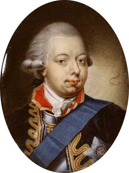 Leonard TEMMINCK (1753-1813) Portrait of Willem V van Oranje- Nassau (1748-1806) Stichting Historische Verzamelingen van het Huis Oranje-Nassau