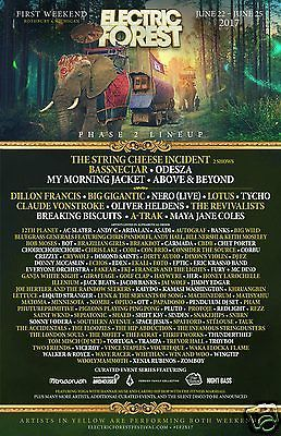 Electric Forest Ticket