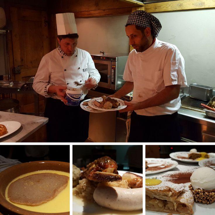 zuppa al vino #traminer, stinco, bratwurst, #canederli, #crauti, #brezel e #strudel... alcuni dei deliziosi piatti trentini preparati dal nostro chef per la Komano Bier Fest 2016!