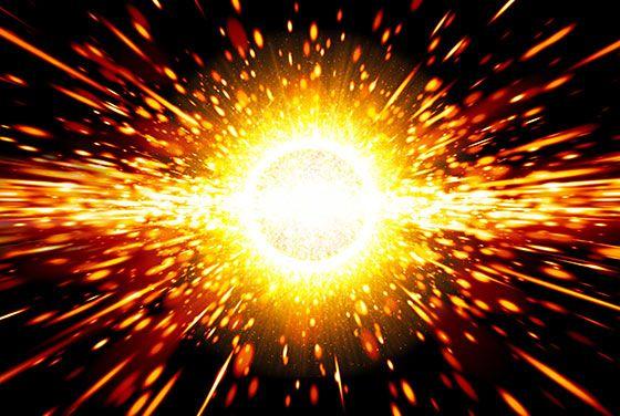 efektit: alkuräjähdys