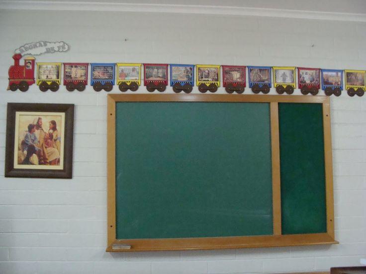 Por Lucineide Berg Ala Morumbi São Paulo/SP  Cada regra de fé que as crianças decoram, ganham o vagão referente aquela regra de fé e no térm...