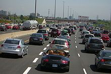 Highway 401 is the busiest highway in North America and among the busiest in the world