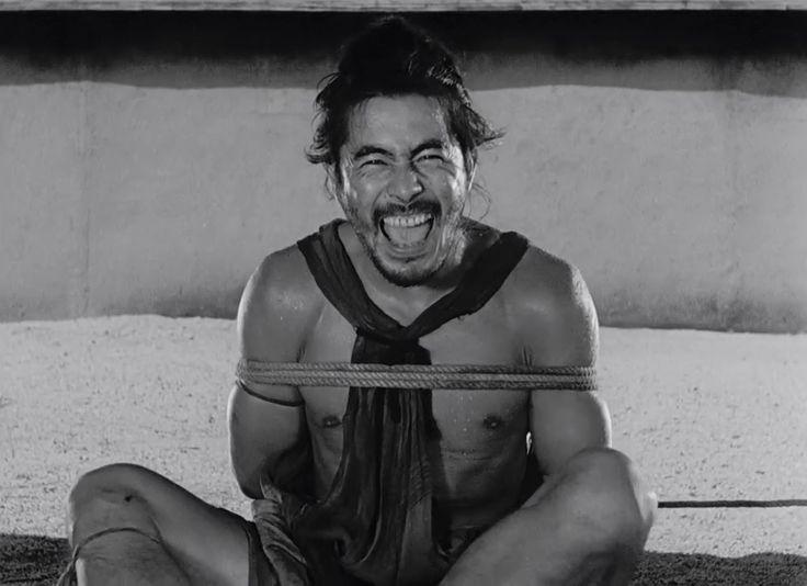 """Toshiro Mifune. """"Rashomon"""" (1950)"""
