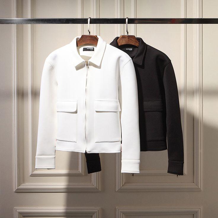 2014 осень и зима корейский Тонкий британском стиле крупные европейские и американские космические хлопка лацкан куртки мужчины короткий параграф Tide - Taobao