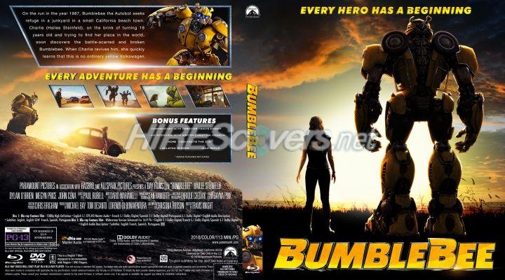 Bumblebee Custom Blu Ray Cover Custom Dvd Dvd Covers Movie Art