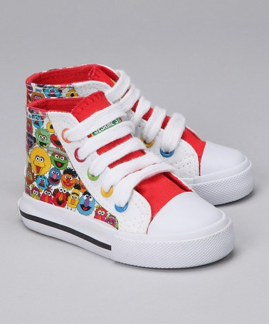 Just picked up two pairs of these for the twins!! Cannot wait to see these with their Sesame Street outfits.