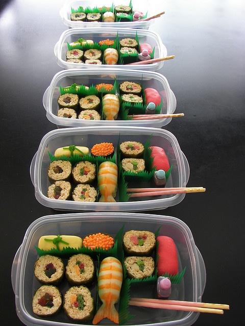 dessert sushi.  Too cute