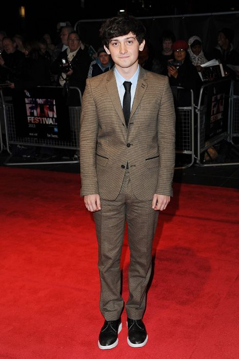 Craig Roberts at the London Film Festival premiere of The Double